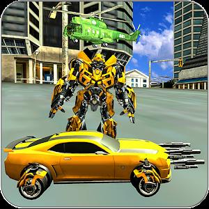 Super Mech Warrior Robot: Muscle Car Transformer Hack
